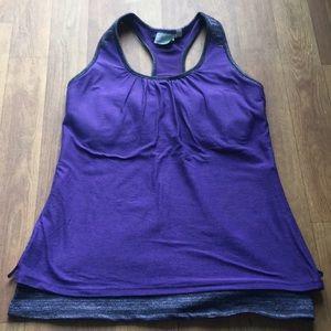 Athleta Purple Tank Top
